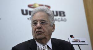 大統領復帰待望論が沸きあがっているカルドーゾ元大統領(Wilson Dias/Agência Brasil)