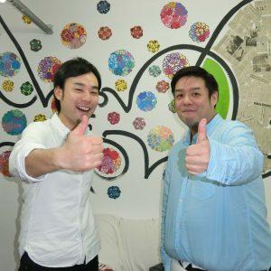 (左から)折井さんと中村さん
