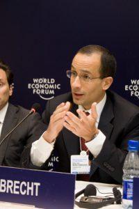 16年3月8日に19年の実刑判決を受け、司法取引にも応じる事になったオデブレヒト元社長、マルセロ・オデブレヒト被告(Cicero Rodrigues/ 2009年4月15日のWorld Economic Forumにて)
