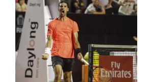 番狂わせを演じたブラジル人テニスプレーヤー、トーマス・ベルッシ(Fotojump)