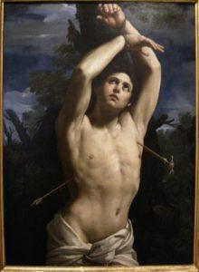 グイド・レーニによる聖セバスチャンの殉教図(I, Sailko, Public domain, via Wikimedia Commons)