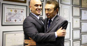 モラエス氏とロボン氏(Foto: Marcelo Camargo/Agência Brasil)