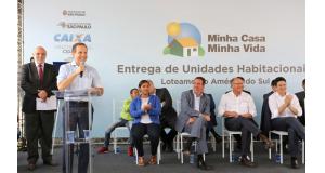 29日のドリア市長(Fabio Arantes/SECOM)