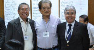 新監査役の(左から)永山イナシオ(福岡)、原(静岡)、平崎靖之(広島)の3氏