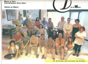 カラカスデッサングループの仲間と発表したメトロ展のカタログ(1990)