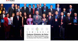 チリ、コロンビア、メキシコ、ペルーが加盟する「AP」太平洋同盟各国のサイト