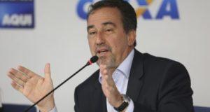 連邦貯蓄銀行(Caixa)の、ジルベルト・オッシ頭取(Antonio Cruz/Agência Brasil)