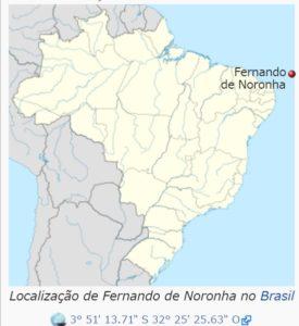 フェルナン・デ・ノローニャ島の場所(ウィキペディアより)