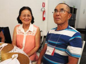 昨年11月に結婚40周年を迎えた馬場アヤ子さんと夫の和義さん