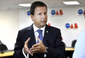 クラウジオ・ラマキアOAB会長(Valter Campanato/Agência Brasil)