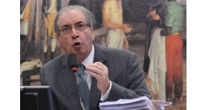 下院議長時代のクーニャ氏(Antonio Cruz/Agência Brasil)