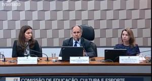 上院会議の様子(出典: Portal e-Cidadania)