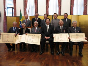 塚田さん、吉安さん、山添さん、中前総領事、辰巳さん、黒木さん