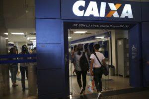ブラジリアの連邦貯蓄銀行支店(参考画像 - José Cruz/Agência Brasil)