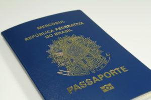 ブラジルの旅券