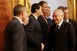 20日、ロシアでのテメル大統領(Beto Barata/PR)