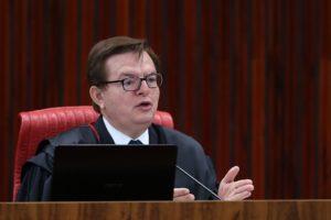 TSEで「シャッパ無効」を訴えたベンジャミン判事(Foto: Jose Cruz/Agencia Brasil)