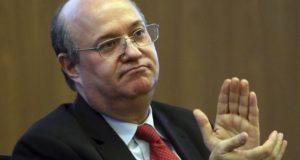イラン・ゴールドファジン中銀総裁(José Cruz/Agência Brasil)