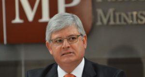 9月17日で任期切れとなるロドリゴ・ジャノー連邦検察庁長官(Elza Fiuza/Agência Brasil)