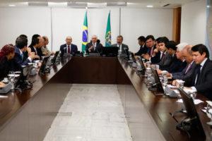 5日夜の閣僚会議(Alan Santos/PR/FotosPúblicas)