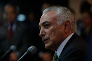 6月29日のテメル大統領(Marcos Corrêa/PR/FotosPúblicas)