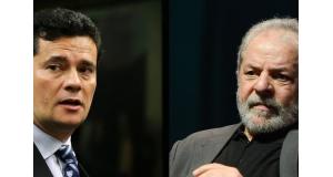 モロ判事とルーラ氏(Arquivo/Agência Brasil)