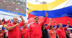 27日のマドゥーロ大統領(Presidencia da Venezuela)
