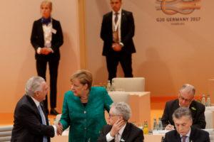 8日、G20を後にするテメル大統領(Beto Barata/PR)