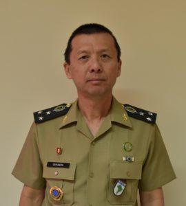 中将に昇格した池田隆蔵さん