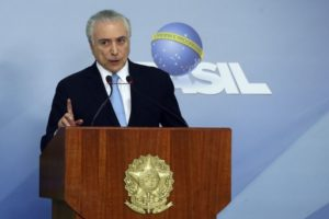テメル大統領(Valter Campanato/Agência Brasil)