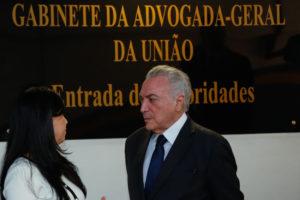 9日のテメル大統領(Marcos Corrêa/PR)