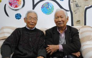来社した宮村会長と川崎副会長