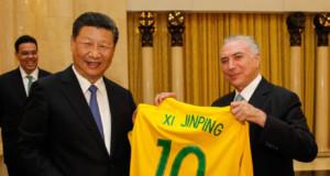 1日、中国でのテメル大統領(Beto Barata/PR)