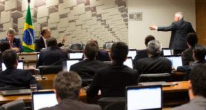 初日から委員退場などで混乱したJBS両院合同調査委員会(Lula Marques/AGPT)