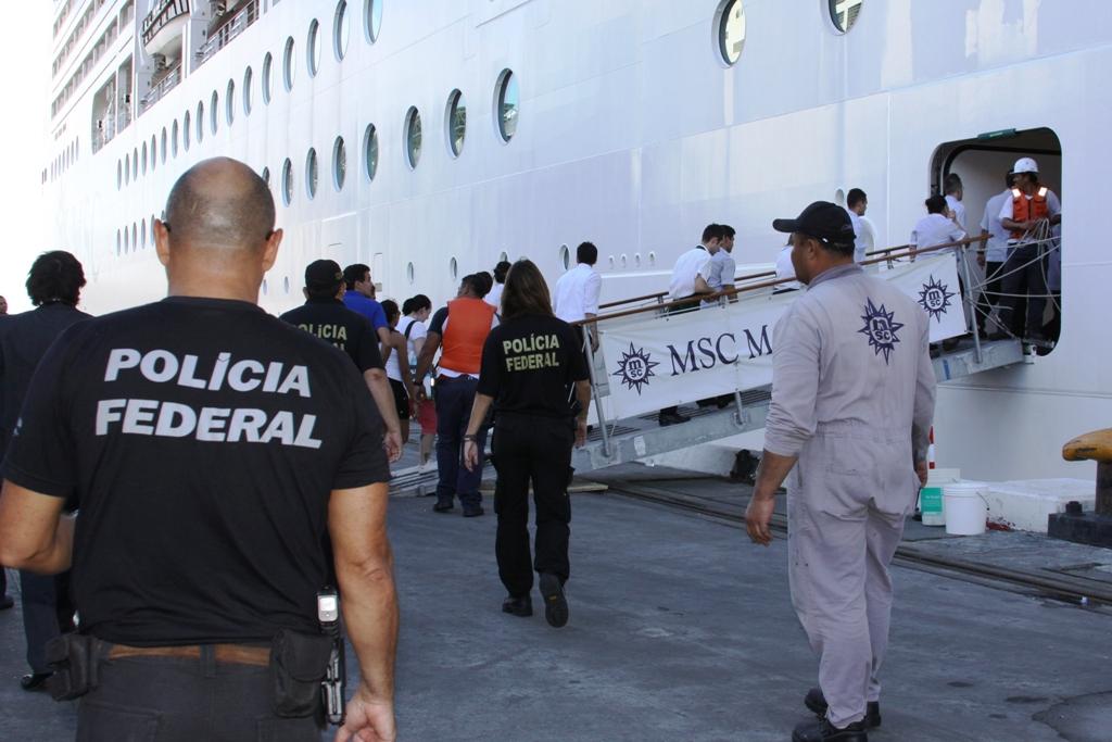 クルーズ船の労働環境も、奴隷労働だと摘発された(参考画像・Rogério Paiva/ MTPBA)