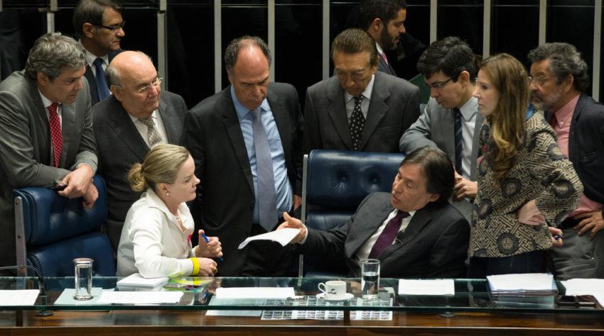 5日の上院の様子(Lula Marques/AGPT)