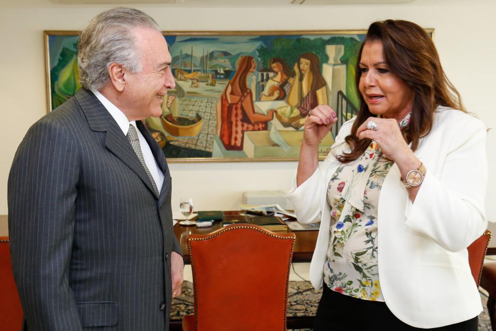 19日のテメル大統領(Alan Santos/PR)