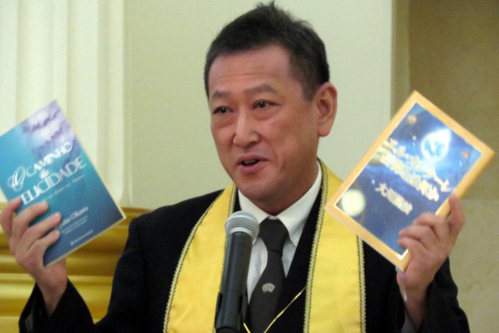 日本から訪問した武川講師