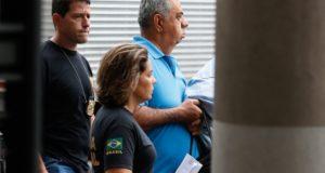 21日、再び逮捕されたピシアーニ氏(Tomaz Silva/Agência Brasil)
