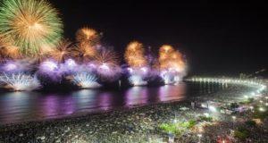 リオ市の毎年恒例の大晦日の年越し花火の様子(参考画像・Gabriel Monteiro/Riotur)