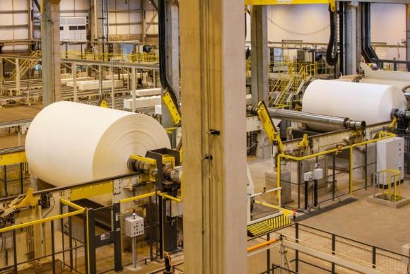 ブラジル国内の製紙工場(参考画像・Arquivo/Isac Nóbrega/PR)