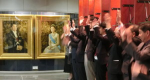 皇室の弥栄を祈り万歳三唱