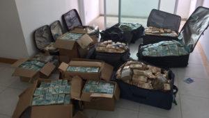 第3位の「ジェデルのスーツケース」(Policia Federal)