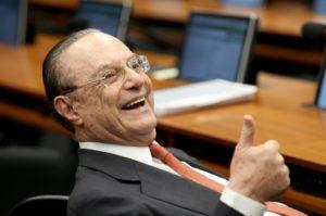 17年10月のマルフ氏(Wilson Dias/Agência Brasil)
