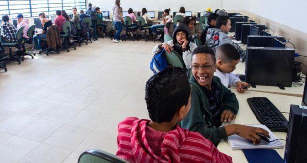 全日制が採用された学校の様子(参考画像Diogo Moreira/A2 FOTOGRAFIA)