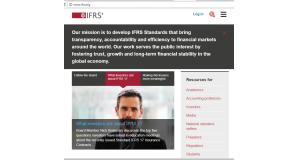 国際財務報告基準(International Financial Reporting Standards、IFRS)を決めた国際会計基準審議会(IASB)のサイト