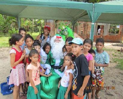 イベントを楽しむ子供達