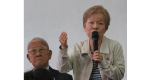 講演をした森田さんと渡辺さん