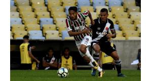 フルミネンセ時代のグスターヴォ・スカルパ(Mailson Santana/Fluminense FC)
