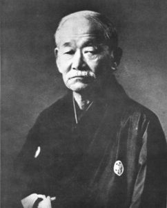 嘉納治五郎( [Public domain], via Wikimedia Commons)